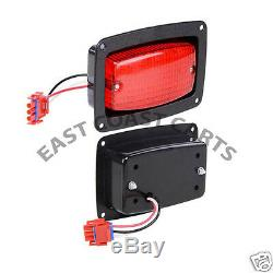 Yamaha G14-G22 Golf Cart DELUXE Street Legal Head Light Kit withLED Taillights