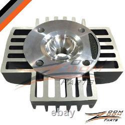 Yamaha Pw50 60cc Big Bore Kit Set Cylinder Piston Gasket Head Top End 1981-2009